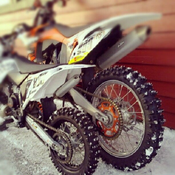The snow is coming!: Motorcycle Pics, Motocross 3, Ktm Motorsports, Motocross Motolove, Dirt Bikes, Father Son Motorcycle, Bike Stuff