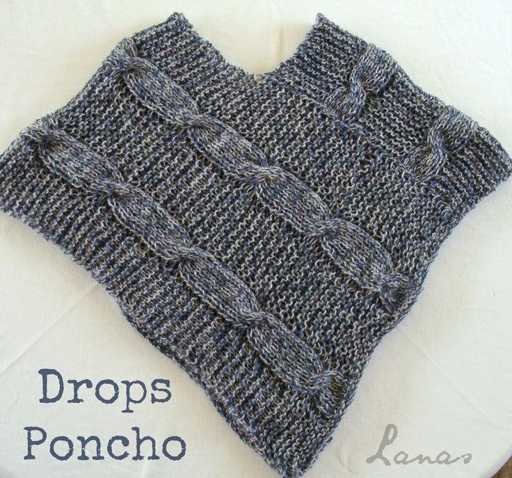 Lanas de Ana: DROPS PONCHO