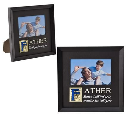 Picture Frame Pl Dad W/Words 10x15cm
