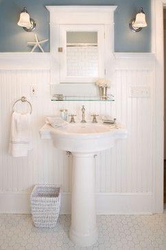 Morris Maids Sink - traditional - bathroom - new york - Carisa Mahnken Design Guild