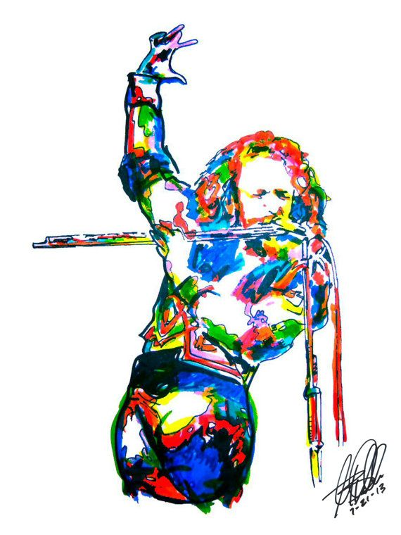 Ian Anderson of Jethro Tull POSTER from Original by thesent, $14.99