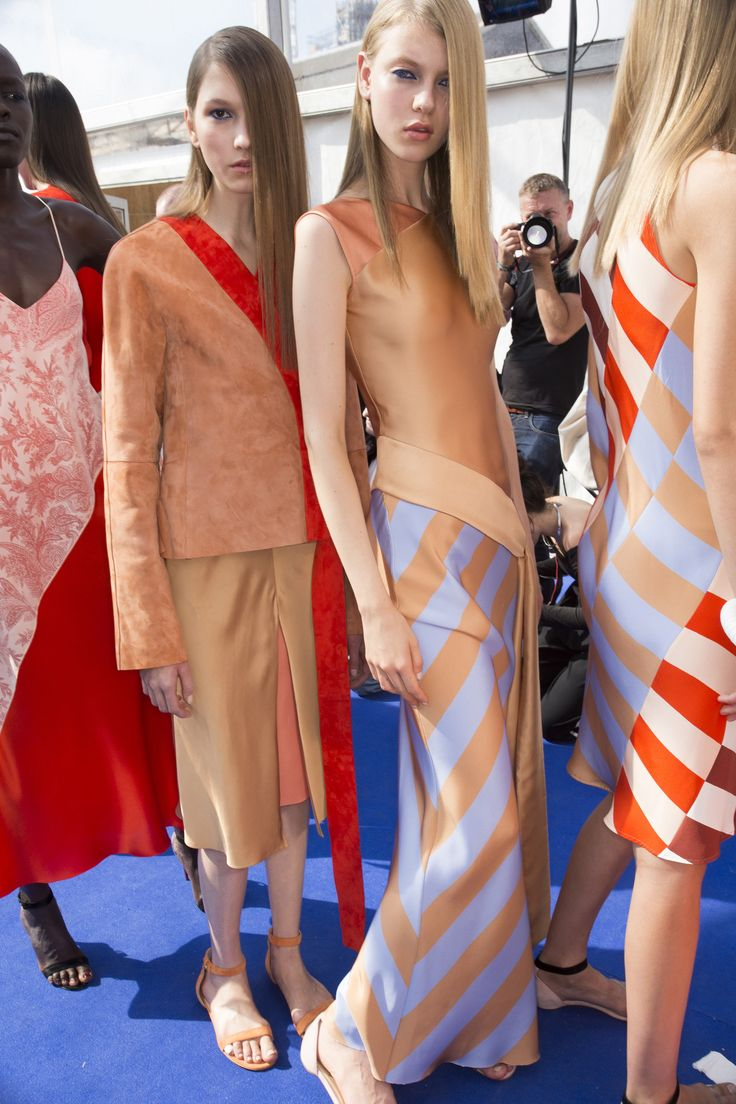 Jonathan Saunders Spring 2016 Ready-to-Wear Fashion Show Beauty