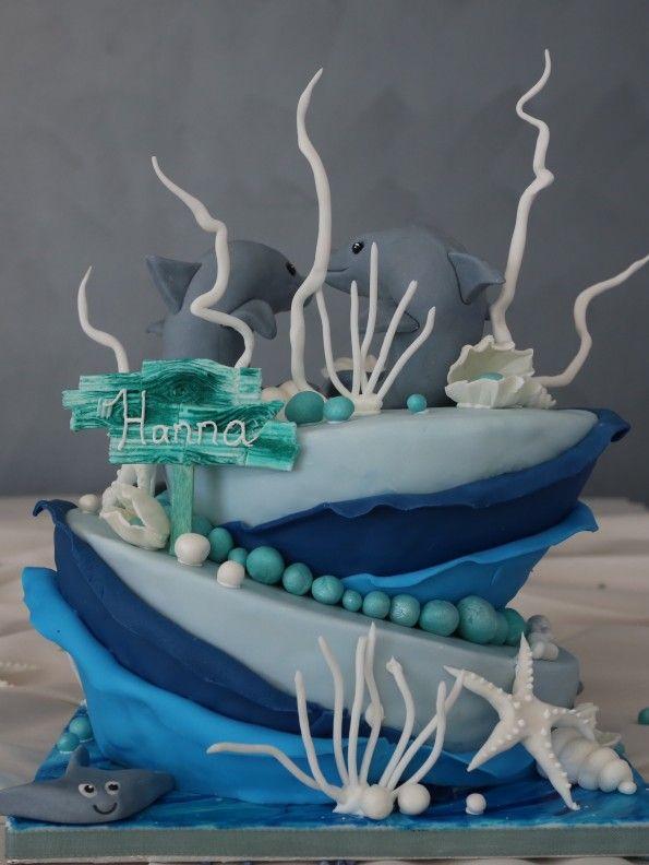 Meer Unterwasser Motivtorte