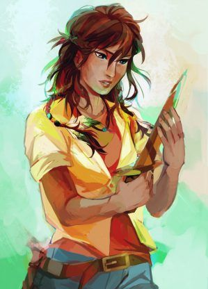 Piper McLean – Rick Riordan | art by viria