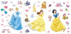 disney princesses sticker by fantastick wall art #fantastick #onyourwall #wallart #sticker #home #deco #disney