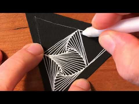 Zentangle® Project Pack #1 - Paradox - YouTube
