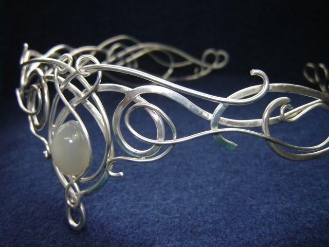 Circlets, Coroas, tiaras e vestidos para suas medieval, celta ou casamento Elven!