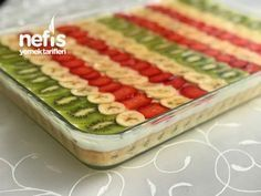 Meyveli Hafif Pasta #meyvelihafifpasta #pastatarifleri #nefisyemektarifleri #yemektarifleri #tarifsunum #lezzetlitarifler #lezzet #sunum #sunumönemlidir #tarif #yemek #food #yummy