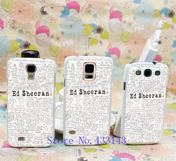 Эд ширан TD-116 стиль чистая кожа задняя крышка чехол для Galaxy S5 S4 S3 I9600 I9500 I9300