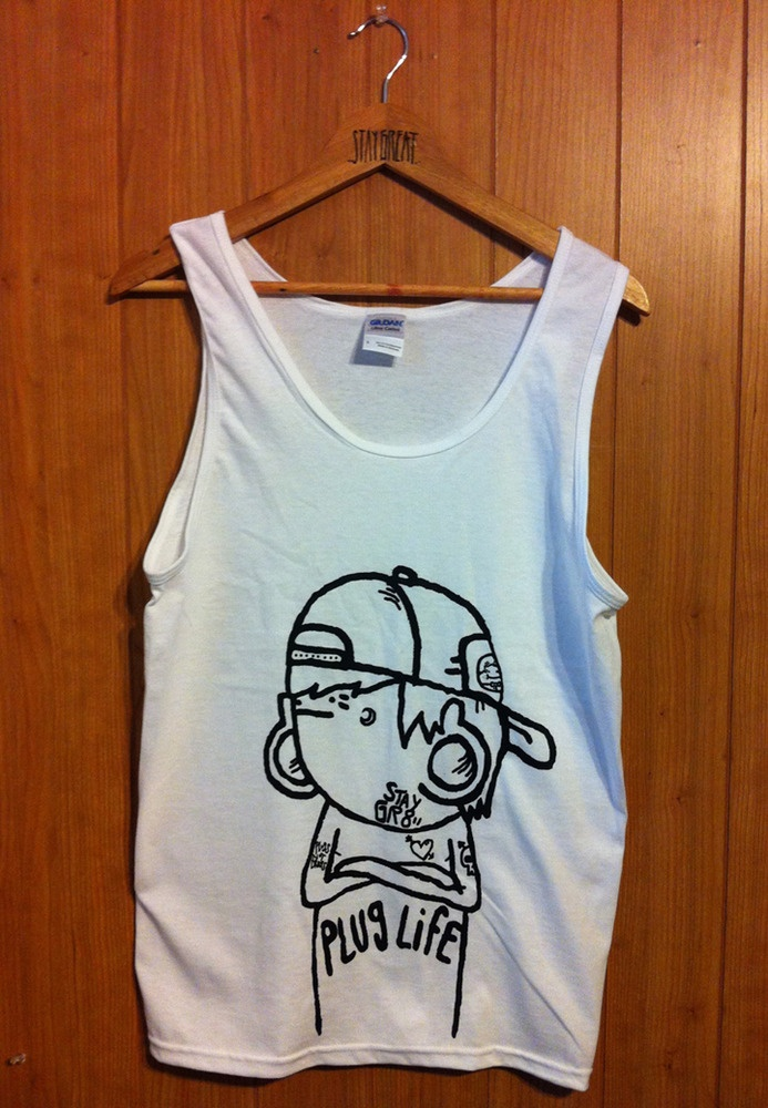 Plug Life (Tank Top), $19.99 by STAY GREAT APPAREL! i need
