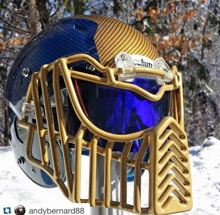 Custom Football Helmet Facemask SHOC Visor