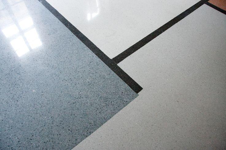 detail terrazzo Mondrian design