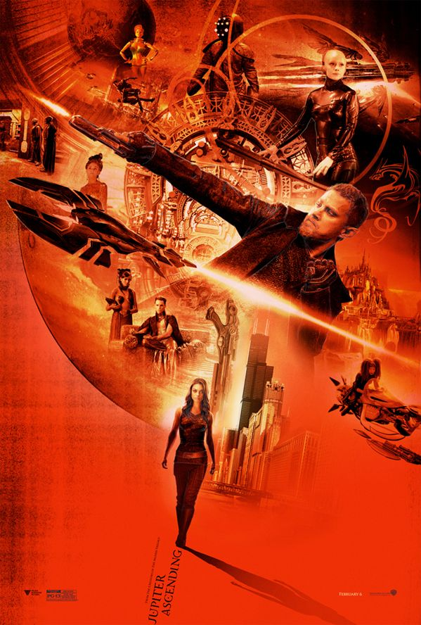 Check Out These Awesome Alternate Posters for 'Jupiter Ascending'