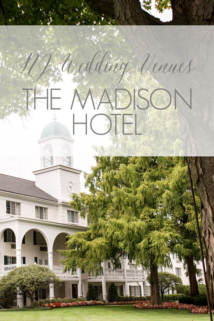 NJ Wedding Venues   North Jersey Wedding Venues   The Madison Hotel in Morristown, NJ