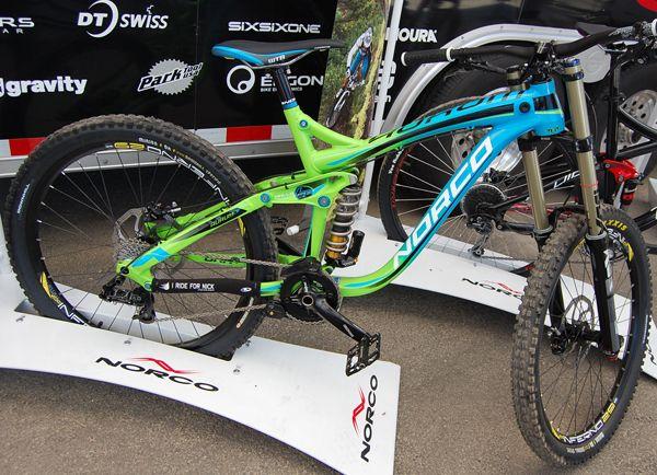 2013 Norco Aurum LE Downhill Prototype Bike