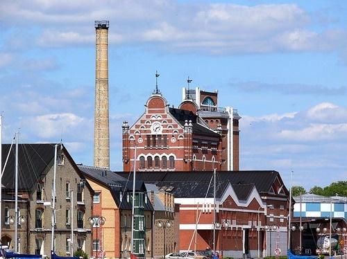 the absolut factory  Åhus, sweden