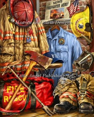 Firefighters - Cross Stitch Patterns & Kits - 123Stitch.com