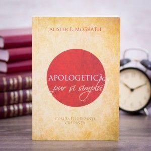 """Apologetica pur si simplu"" ~ Alister McGrath #theologybook"