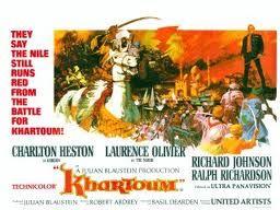 Khartoum : Film américain guerre, drame, historique - avec : Charlton Heston, Laurence Olivier, Richard Johnson, Ralph Richardson, Alexander Knox - 1966
