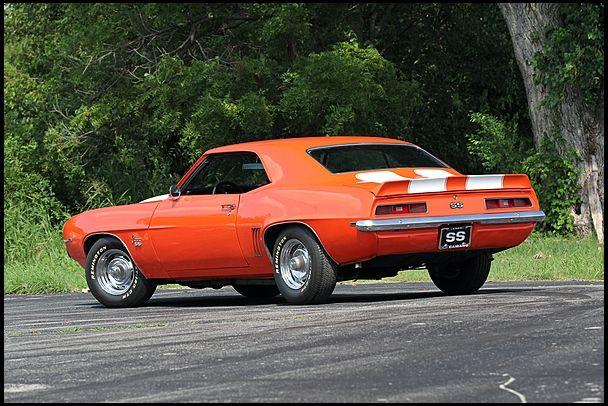 1969 Chevrolet Camaro  #Mecum #Dallas