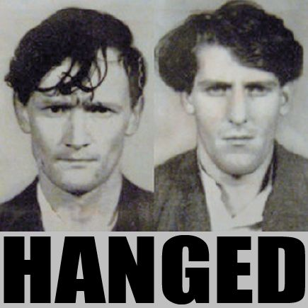 Via @jackie_jackson --- Fifty years ago today - the last men to hang in the UK.