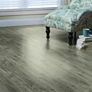 Afford A Luxurious Touch To Your Floor By Adding This Home Decorators  Collection High Fashion Oak Grey Length Laminate Flooring.