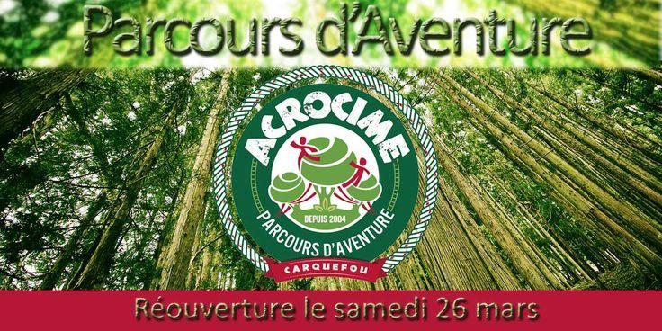 Parcours Aventure Acrocime à Carquefou - 8 Parcours d'accrobranche pour les enfants et les parents