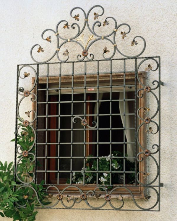 Stylish Window Grill Designs @ MyDecorative.Com by @Himanshu Shah via @ mydecorative