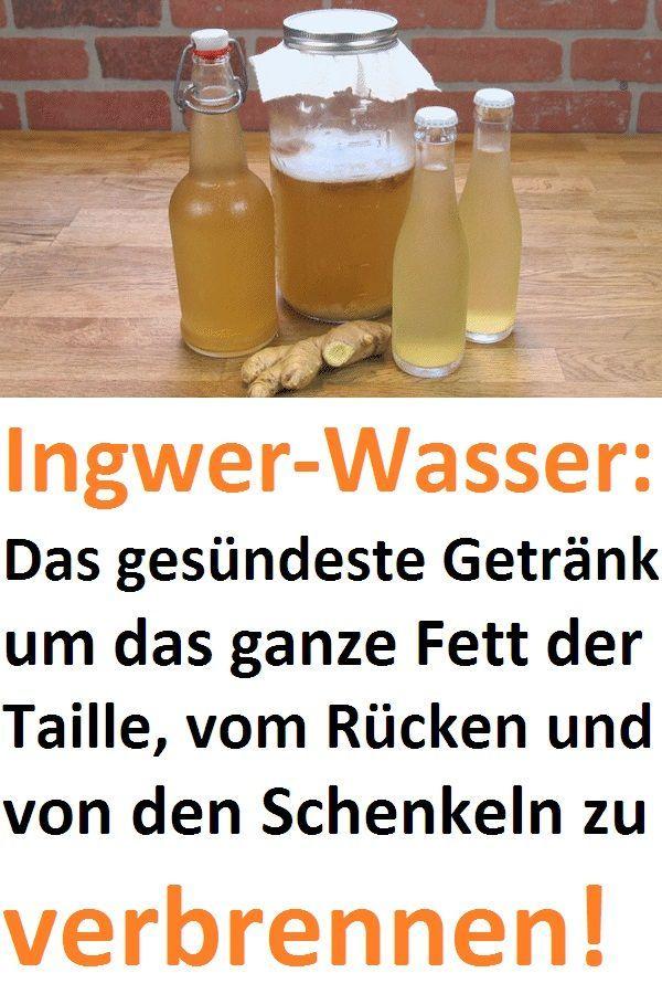 Ingwer-Wasser: Das gesündeste Getränk um das gan…