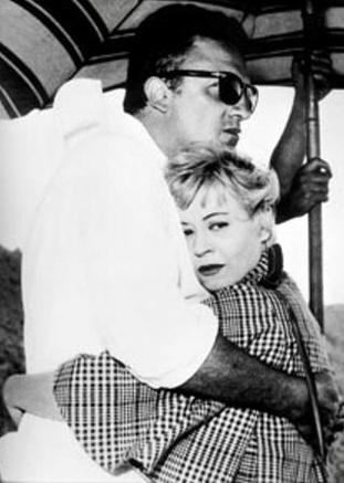 Giulietta Masina and Fellini