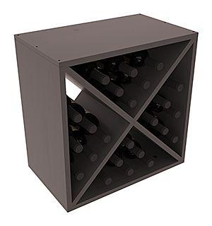 24 Bottle Wine Storage Cube   Living Series™ Wine Rack