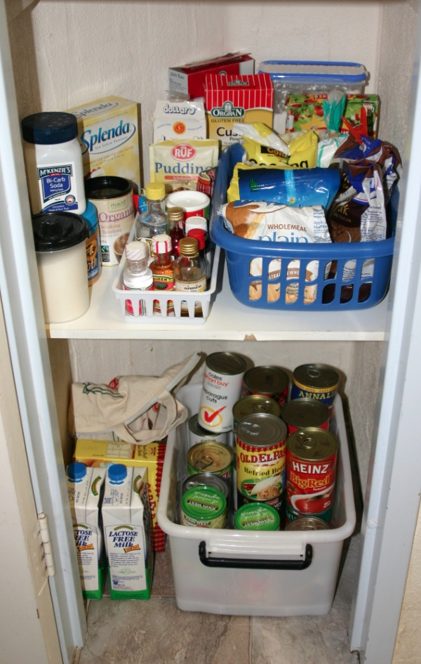 Nordic Planning gave everything a home in the pantry!