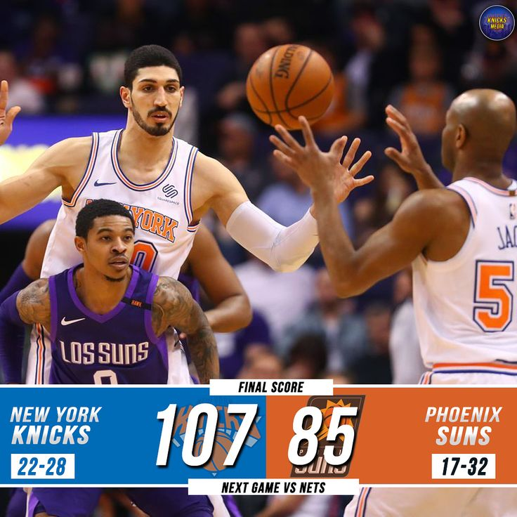 KNICKS WIN! _ Man it feels good to win again. Knicks defeat the Suns by a final score of 107-85. Devin Booker got ejected in the 3rd quarter so it was good not having to deal with him. Trey Burke had a great game though. Knicks play on Tuesday back at home against the Nets. Swipe to see player stats. _ #knicks #knick #knickfans #knickfan #newyorkknicks #nyk #nyc #newyork #nykbasketball #knickbasketball #newyorkknicknews #newyorkknicks #knicksway #media #news  #nba #sport #basketball