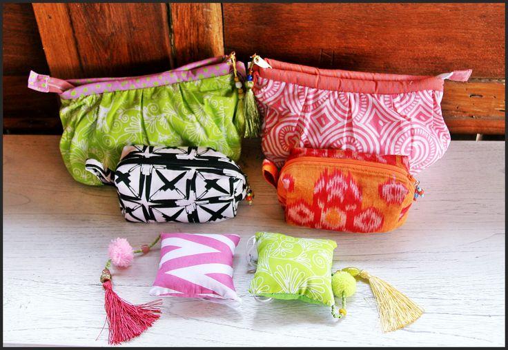 Colorful Handbags by Tan Living.
