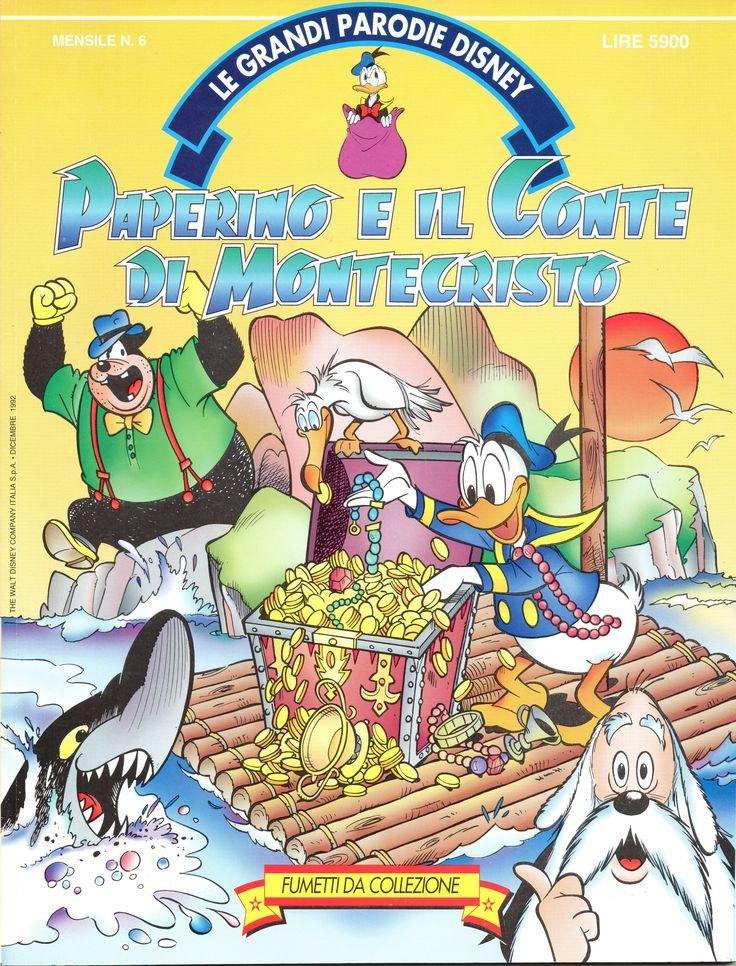 PAPERINO E IL CONTE DI MONTECRISTO - Le Grandi Parodie Disney n. 6 (1992)