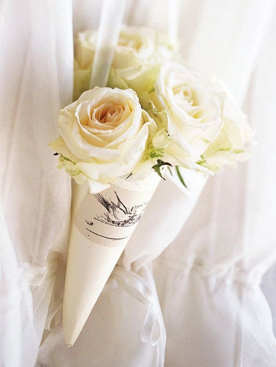 Flower Cones  Flower Cones Flower cones can be the perfect lightweight accessory for your flower girls. View this craft