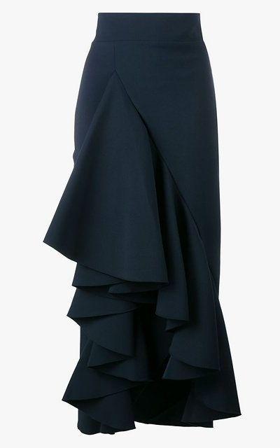 Awake ruffled maxi skirt, $715.