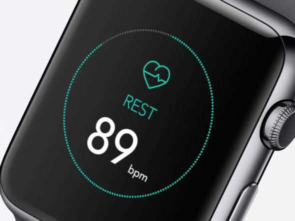 Fitness Apple Watch App—The Best iPhone Mockups → store.ramotion.com