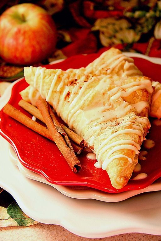 Pumpkin Apple Turnover - great for Fall | Yummy | Pinterest
