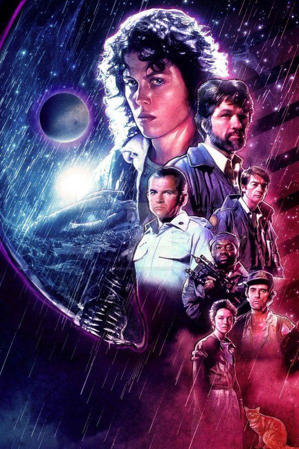Alien By Spaceboycomics Sci Fimovies Sci Fi Movies Posters Peliculas De Terror Poster De Cine Mejores Carteles De Peliculas