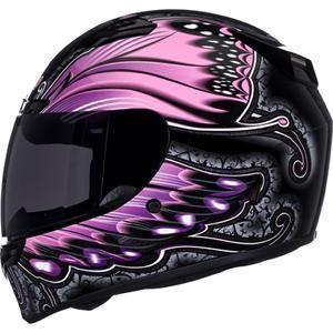 Women's Motorcycle Helmets   Bell Women's Vortex Monarch Helmet - Closeout - Motorcycle Superstore