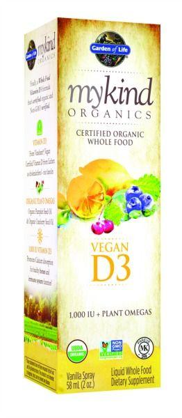 Liquid Vitamin D3 Spray