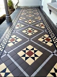 Image result for victorian verandah tiles