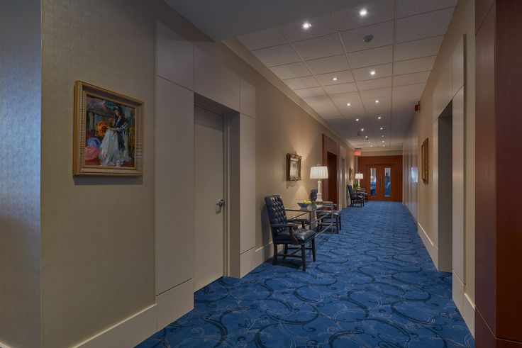 Corridor leading to meeting rooms and end hall Banquet Room