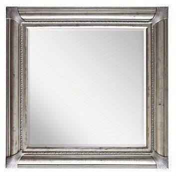 Briscoes - Brooklyn Edmonton Mirror Antique Silver 846x846mm
