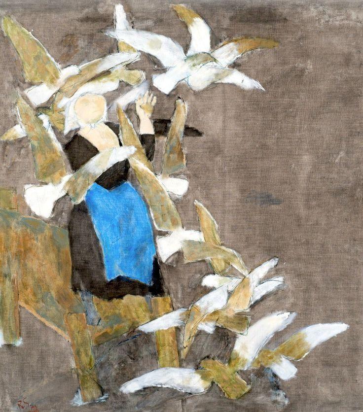Ragnar Sandberg 1902-1972 White Birds