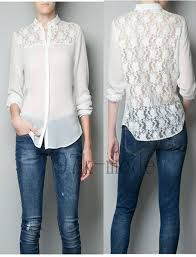 Love the chiffon blouse