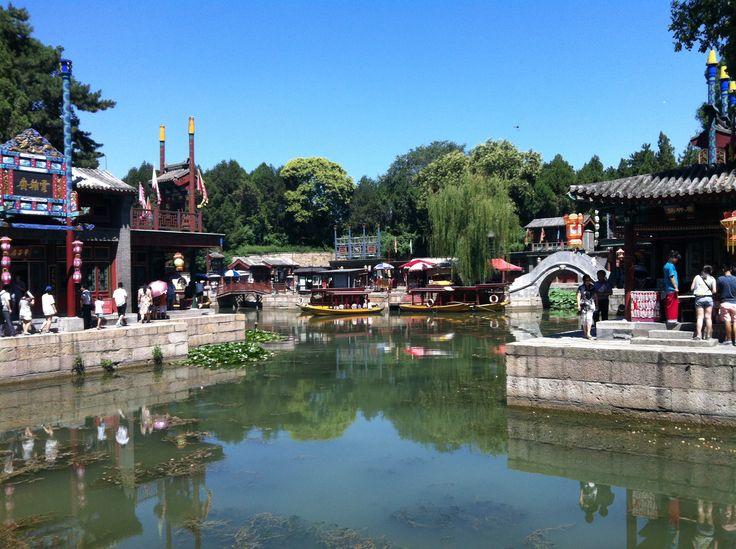 Jardines del palacio de verano. Pekín.