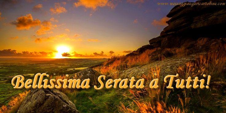 Bellissima Serata a Tutti!