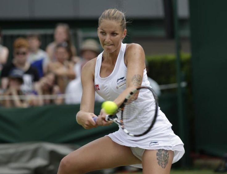 Karolina Pliskova Tennis WTA Elite Trophy Karolina Pliskova vs Jelena | Tennis players female ...